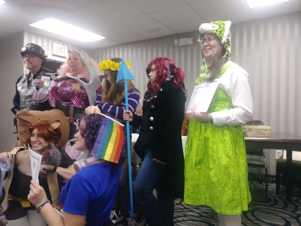 Costume winners 2019